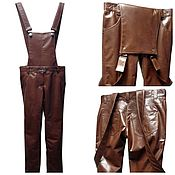 Одежда handmade. Livemaster - original item Jumpsuit leather. Handmade.