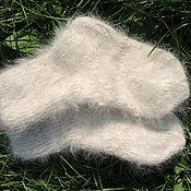 Аксессуары ручной работы. Ярмарка Мастеров - ручная работа носки из собачьей шерсти. Handmade.