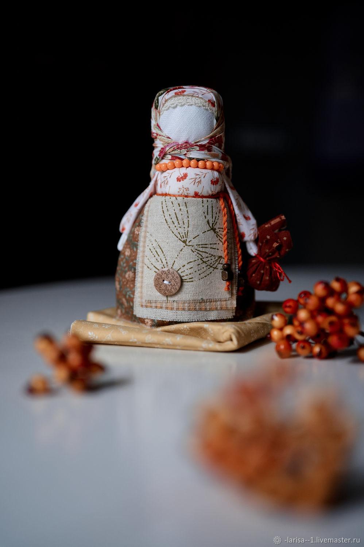 Народная кукла Рябинка, Народная кукла, Обухово,  Фото №1