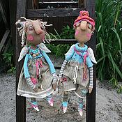Куклы и игрушки ручной работы. Ярмарка Мастеров - ручная работа Дачные ангелы. Handmade.