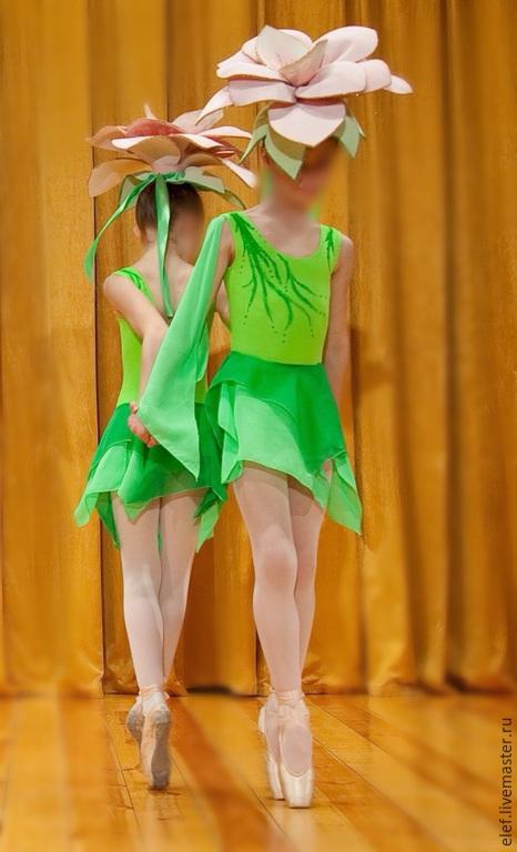 """Танцевальные костюмы ручной работы. Ярмарка Мастеров - ручная работа. Купить Танцевальный костюм """"Цветы"""". Handmade. Балет, цветы"""