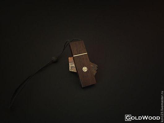 """Компьютерные ручной работы. Ярмарка Мастеров - ручная работа. Купить Флешка """"Pin"""" 16гб. Венге. Handmade. Коричневый, флешка из дерева"""