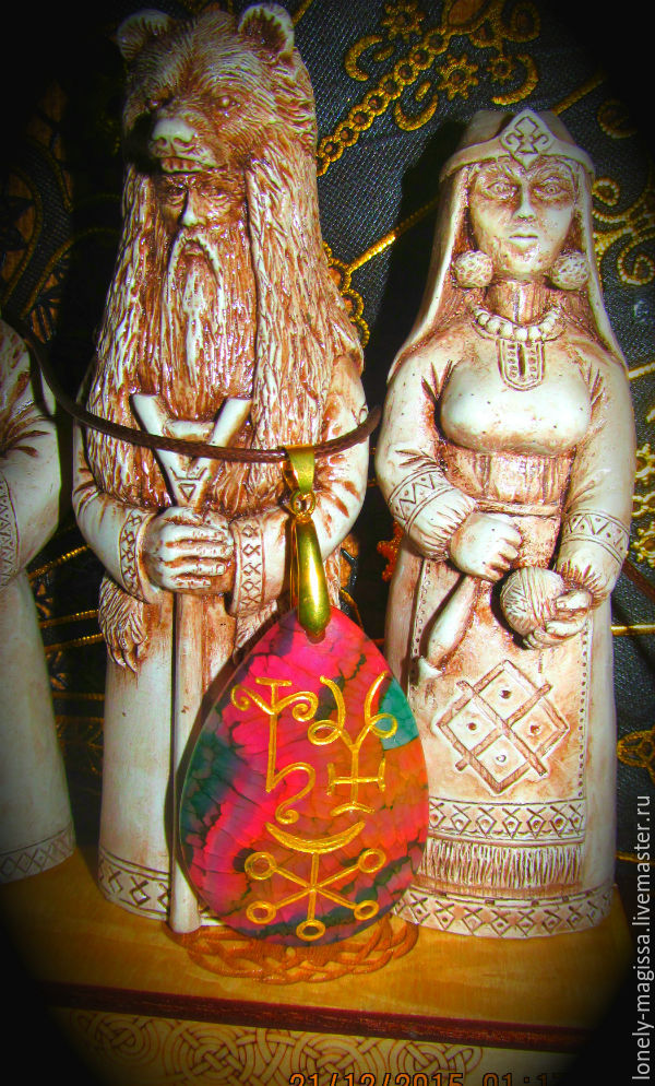 'LilyRuner -girl power', the mascot with glyphs and runes of stone, Amulet, Sochi,  Фото №1