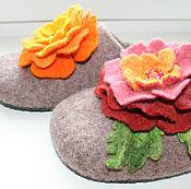 Обувь ручной работы. Ярмарка Мастеров - ручная работа Тапочки Бисер. Handmade.