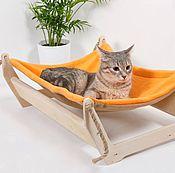 """Гамак для питомца ручной работы. Ярмарка Мастеров - ручная работа Гамак для кошек """"Ленивый котик"""". Handmade."""