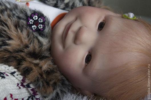 Куклы-младенцы и reborn ручной работы. Ярмарка Мастеров - ручная работа. Купить Осенний Рыжик - Злата. Кукла реборн.. Handmade.