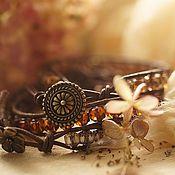 Украшения ручной работы. Ярмарка Мастеров - ручная работа Комплект браслетов в винтажном стиле. Handmade.