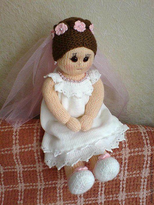 Подарки на свадьбу ручной работы. Ярмарка Мастеров - ручная работа. Купить Кукла-невеста. Handmade. Невеста, свадебный аксессуар, пряжа