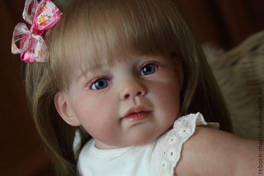Куклы-младенцы и reborn ручной работы. Ярмарка Мастеров - ручная работа. Купить Кукла реборн Лизонька. Handmade. Коралловый, Стеклогранулят