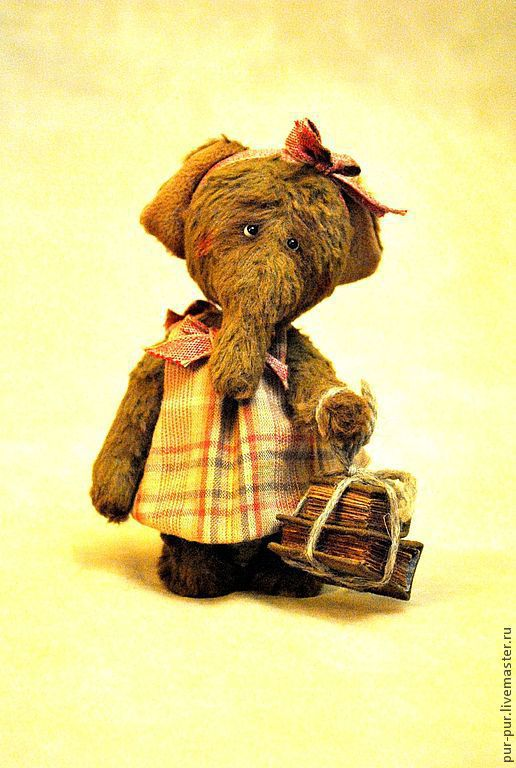 Мишки Тедди ручной работы. Ярмарка Мастеров - ручная работа. Купить Бантики. Handmade. Желтый, слоны, друзья мишек тедди