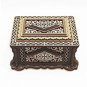 Для дома и интерьера handmade. Livemaster - original item Wooden box