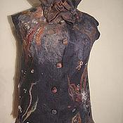 """Одежда ручной работы. Ярмарка Мастеров - ручная работа Жилет """"Butterfly"""". Handmade."""