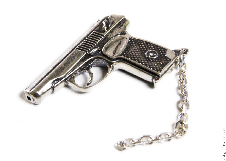 """Брелок """"Пистолет"""", Брелок, Санкт-Петербург,  Фото №1"""