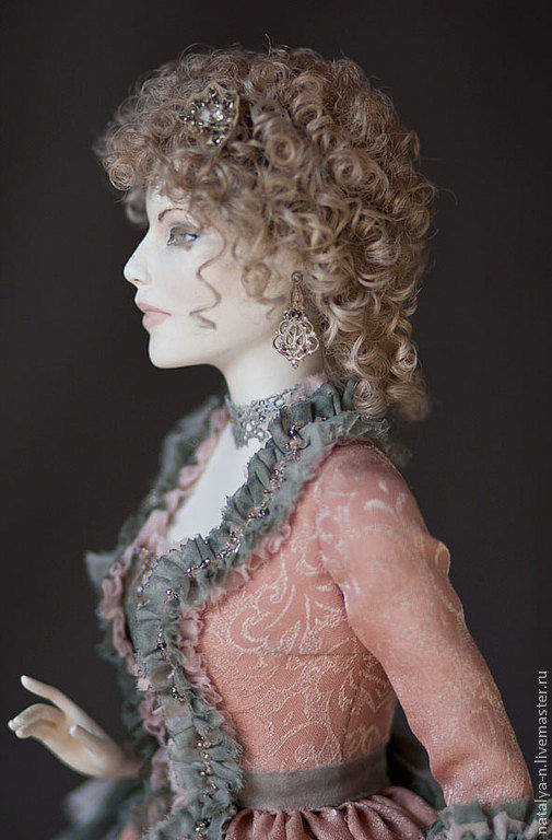 Collectible Dolls handmade. Livemaster - handmade. Buy Theresa (collectible doll).Hand made, shoes, textile
