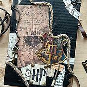 Ежедневники ручной работы. Ярмарка Мастеров - ручная работа Гарри Поттер. Handmade.
