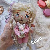 """Куклы и игрушки ручной работы. Ярмарка Мастеров - ручная работа Авторская кукла """"Соня """". Handmade."""