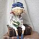Ароматизированные куклы ручной работы. Эльза - подружка Кристиана. Дана Свистунова. Ярмарка Мастеров. Любительница вязать, ваниль