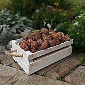 Для дома и интерьера handmade. Livemaster - original item A wooden box with a rope Cedar. Handmade.