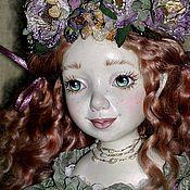 Куклы и игрушки ручной работы. Ярмарка Мастеров - ручная работа кукла Фиона Рыжая девочка с ежевикой полимерная глина. Handmade.