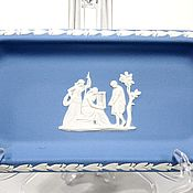 handmade. Livemaster - original item Wedgwood Sponge China Plate England. Handmade.