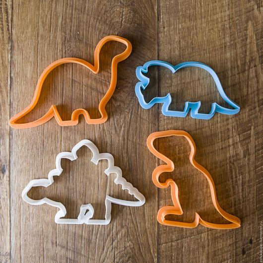 Кухня ручной работы. Ярмарка Мастеров - ручная работа. Купить Динозавры - Набор N9 вырубок для печенья и пряников. Handmade.