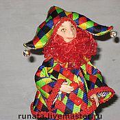 Куклы и игрушки ручной работы. Ярмарка Мастеров - ручная работа Арлекино. Handmade.