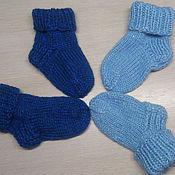 Работы для детей, ручной работы. Ярмарка Мастеров - ручная работа Детские носочки. Разноцветные носочки для мальчиков и для девочек.. Handmade.