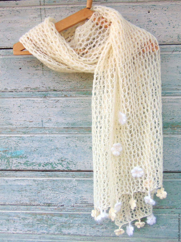 Вязание шарфов из шерсти 374