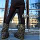 """Обувь ручной работы. Валяные ботинки """" Мандачиван"""". Маш Папян (Mashpapyan). Ярмарка Мастеров. Обувь из войлока, валенки для улицы"""