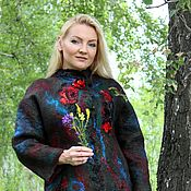 "Одежда ручной работы. Ярмарка Мастеров - ручная работа Авторская валяная куртка (пальто) ""Forest History"". Handmade."