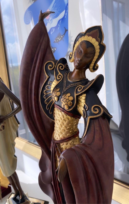 Винтаж: Бронзовая скульптура Erte, Предметы интерьера винтажные, Москва,  Фото №1