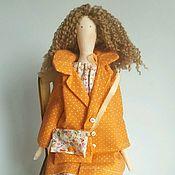 Куклы и игрушки ручной работы. Ярмарка Мастеров - ручная работа Кукла Тильда. Модница Аврора. Handmade.