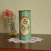 """Для дома и интерьера ручной работы. Ярмарка Мастеров - ручная работа Коробка """"Цветочница Эльза"""". Handmade."""