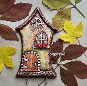 """Для дома и интерьера ручной работы. Ярмарка Мастеров - ручная работа Ключница """"Сказочный домик"""". Handmade."""