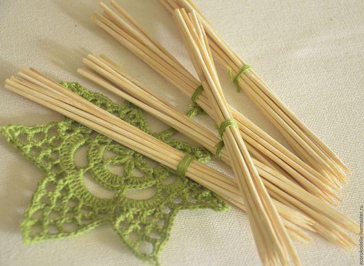 Материалы для флористики ручной работы. Ярмарка Мастеров - ручная работа. Купить Шпажки бамбуковые (10 штук), 2 размера. Handmade.