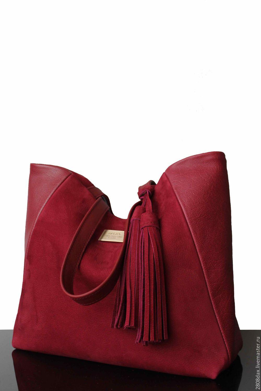 35adfea835c7 Женские сумки ручной работы. Ярмарка Мастеров - ручная работа. Купить  Бордовая замшевая сумка.