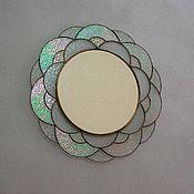 Для дома и интерьера ручной работы. Ярмарка Мастеров - ручная работа Зеркало в технике тиффани. Handmade.