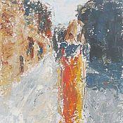 """Картины и панно ручной работы. Ярмарка Мастеров - ручная работа """"ПодиумГород 2"""". Живопись.. Handmade."""