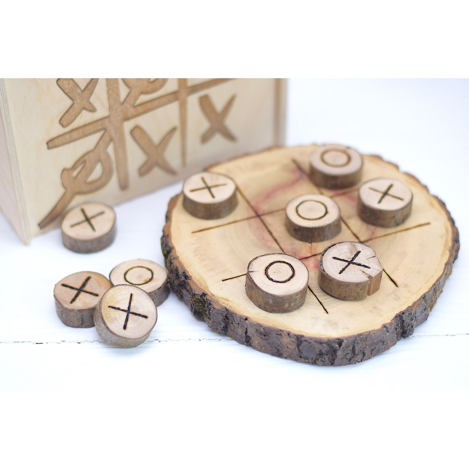 Playsets: ECO toys TIC-TAC-toe in a box, Play sets, Moscow,  Фото №1