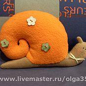 Куклы и игрушки ручной работы. Ярмарка Мастеров - ручная работа Улитка . Handmade.