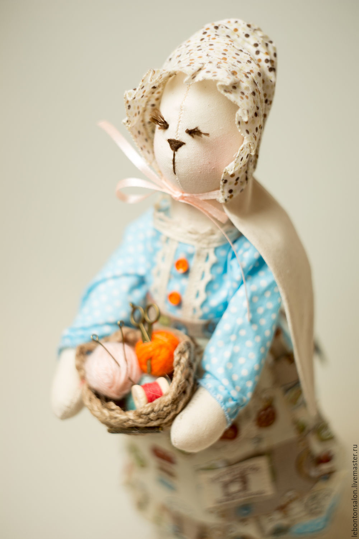 Bunny Tilda Hardworking Seamstress, Christmas gifts, Moscow,  Фото №1