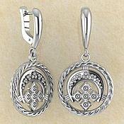 Фен-шуй и эзотерика handmade. Livemaster - original item Lunnits`s earrings with M. Handmade.