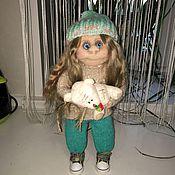 Куклы и игрушки ручной работы. Ярмарка Мастеров - ручная работа Интерьерная кукла ручной работы Маришка.. Handmade.