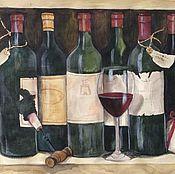 Картины и панно ручной работы. Ярмарка Мастеров - ручная работа In vino veritas. Handmade.