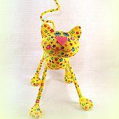 Куклы и игрушки ручной работы. Ярмарка Мастеров - ручная работа Солнечный кот  )). Handmade.
