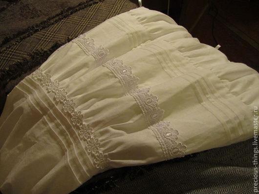 Юбки ручной работы. Ярмарка Мастеров - ручная работа. Купить Нижняя юбка. Handmade. Белый, бохо юбка, женственность