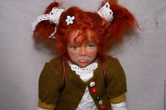 """Коллекционные куклы ручной работы. Ярмарка Мастеров - ручная работа. Купить """"Сластена"""". Handmade. Ливингдолл, масляные краски, мохер"""