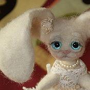 Куклы и игрушки ручной работы. Ярмарка Мастеров - ручная работа Зайка крем-брюле. Handmade.