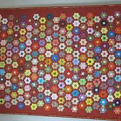 """Для дома и интерьера ручной работы. Ярмарка Мастеров - ручная работа Лоскутное одеяло """"Вальс цветов"""". Handmade."""