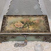 Для дома и интерьера ручной работы. Ярмарка Мастеров - ручная работа Шкатулка для украшений Royal. Handmade.